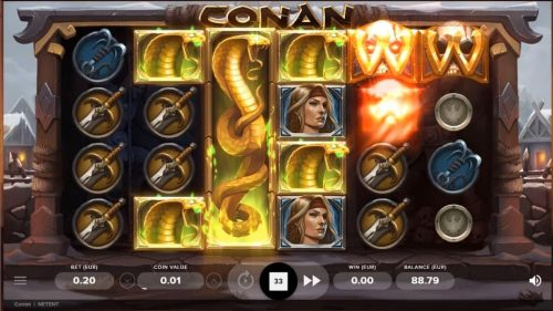 Conan Slot Free Play