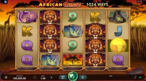 African Quest Slot Free Play