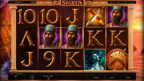 Almighty Sparta Slot Free Play