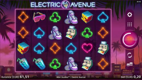 Electric Avenue Slot Free Play
