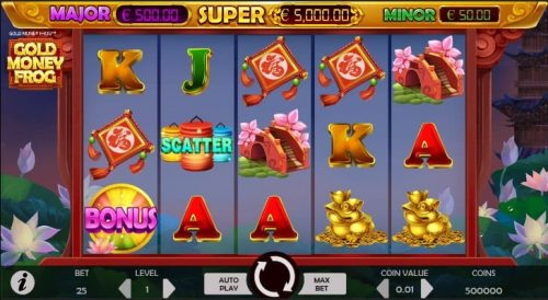 Gold Money Frog Slot Free Play