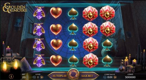 Golden Grimoire Slot Free Play