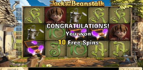 Jack and the Beanstalk Free Play