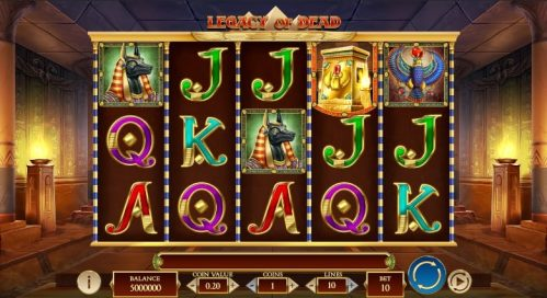 Legacy Of Dead Slot Free Play