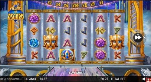 Pillars of Asgard Slot Free Play