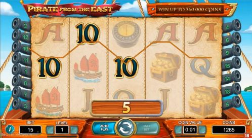 Pirate from the East Slot Free Play