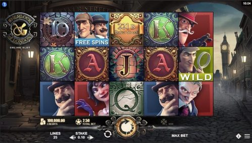 Sherlock of London Slot Free Play