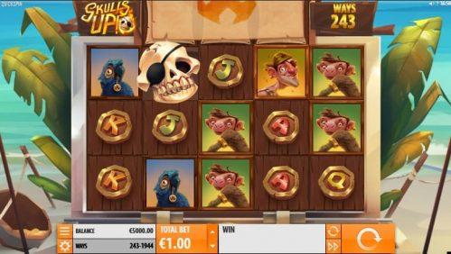 Skulls Up Slot Free Play