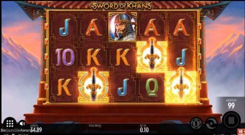 Sword of Khans Slot Free Play