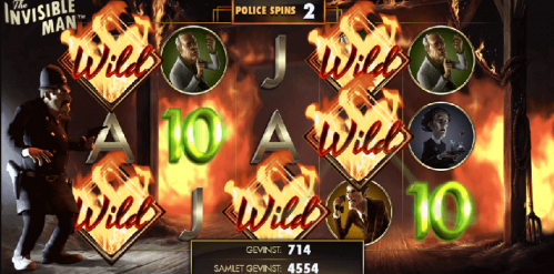 The Invisible Man Slot Free Play