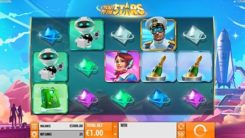 Ticket to the Stars Slot Free Play