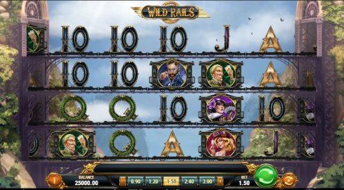 Wild Rails Slot Machine