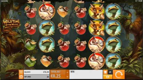 Wild Tome of the Woods Slot Free Play